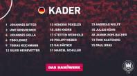Gislason anuncia los 17 jugadores de Alemania para preparar los JJOO de Tokio