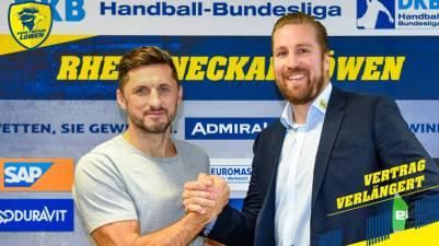 Alexander Petersson renueva con el Rhein-Neckar Löwen hasta 2021