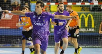 Chema Marquez maximo goleador de la Liga Asobal 17/18