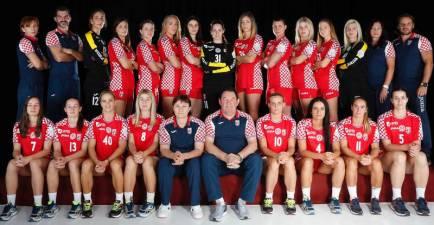 Plantilla Croacia para el Europeo femenino Francia 2018