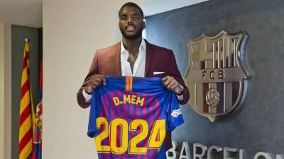 El Barcelona blinda el contrato de Dika Mem hasta 2024