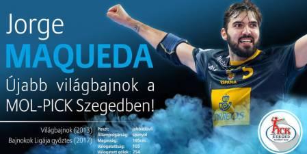 Jorge Maqueda ficha por el Pick Szeged hasta 2020