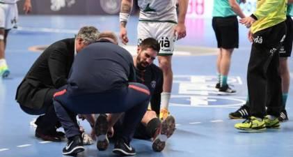 Nikola Karabatic seis semanas de baja por lesion. Peligran los cuartos de Champions League