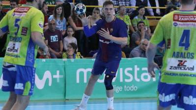 Lasse Andersson vuelve con el Barcelona 13 meses despues