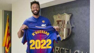 El Barcelona renueva a Timothey N'Guessan hasta 2022