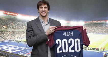PSG confirma el fichaje de Viran Morros por dos temporadas