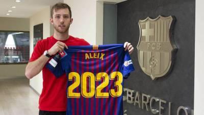 El Barcelona amplia el contrato de Aleix Gomez hasta 2023
