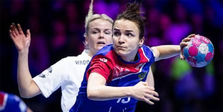 Vyakhireva mete a Rusia en semifinales del Europeo de Francia