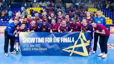 El Barcelona se exhibe ante Meshkov Brest y jugará la Final Four
