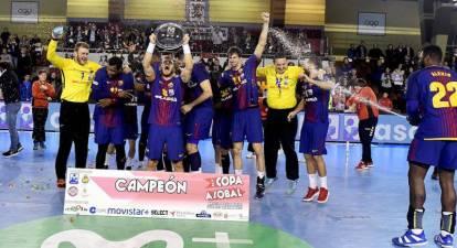 El Barcelona no falla y se lleva su septima Copa Asobal consecutiva
