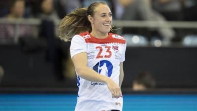 Camilla Herrem se incorpora a la seleccion de Noruega como reserva
