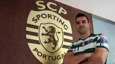 Carlos Ruesga renueva su contrato con el Sporting de Lisboa