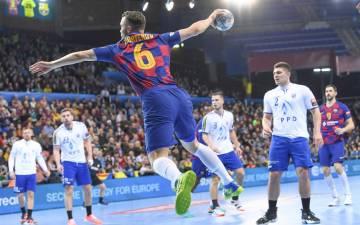 Casper Mortensen vuelve a jugar con el Barcelona un año despues