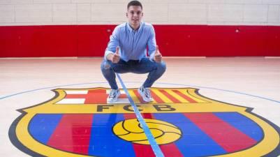 El Barcelona confirma el fichaje de Domen Makuc hasta 2024