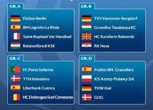 Suerte dispar para los equipos españoles en Copa EHF