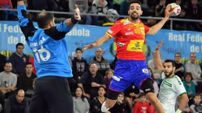 Comoda victoria de España ante Arabia Saudi