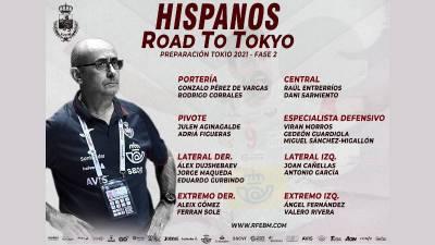 Ribera acorta la lista de España para Tokio a 18 jugadores. Gedeon Guardiola vuelve