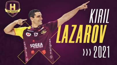 Kiril Lazarov renueva con HBC Nantes hasta 2021