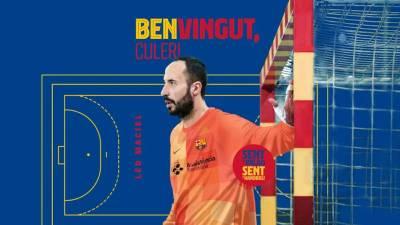 El Barcelona anuncia el fichaje de Leo Maciel por una temporada