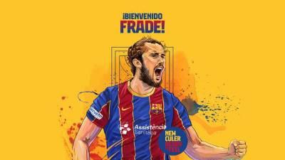 Luis Frade cierra la plantilla del Barcelona para la temporada 20/21