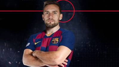 El Barcelona anuncia el fichaje de Luka Cindric por 4 temporadas