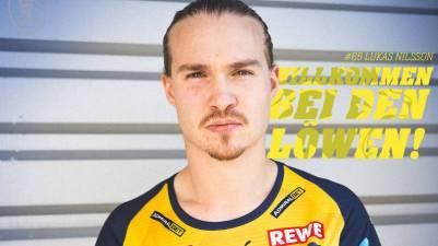 Lukas Nilsson ficha por el Rhein-Neckar Lówen hasta 2024