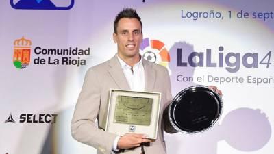 Adriá Figueras MVP de la Liga Asobal 17/18