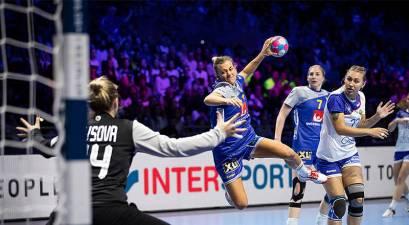 Nathalie Hagman iguala con 17 goles el record en un partido en los Europeos