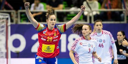 Contundente victoria de España en su debut ante Croacia