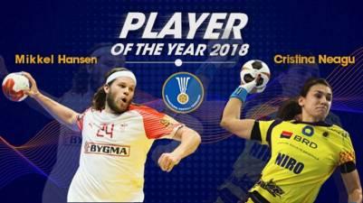 Mikkel Hansen y Cristina Neagu mejores Jugadores del Mundo 2018