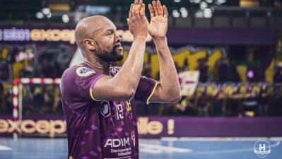 Rock Feliho, especialista defensivo del HBC Nantes, anuncia su retirada