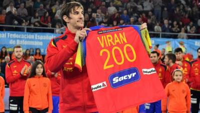 Viran Morros llega a los 200 partidos con España
