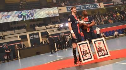 Viran Morros de despide del PSG Handball
