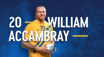 William Accambray cedido al Celje hasta final de temporada